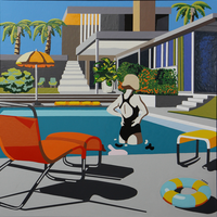 The Picturalist Framed Print on Canvas: Rancho Mirage