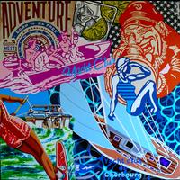 Framed Print on Canvas: Yacht Club de Cherbourg
