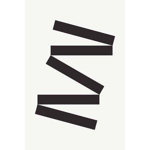 Framed Print on Rag Paper: White-Tie Modern 2