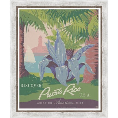Discover Puerto Rico Poster by the U.S. Government programs