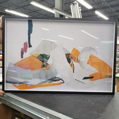 Framed Print on Rag Paper: Subliminal I by Encarnacion Portal Rubio