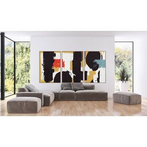 The Picturalist Framed Print on Canvas: For All Mankind