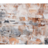 Framed Print on Canvas: Triptych Warm Sands by Leila Pinto