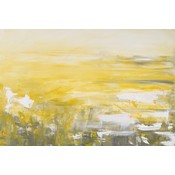 The Picturalist Framed Print on Canvas: Golden Hour Canvas by Leila Pinto