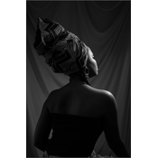 Framed Print on Rag Paper: Beauty by J. David
