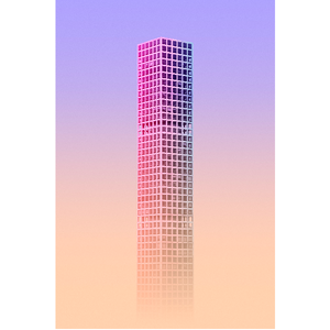 Framed Print on Rag Paper: Tall Series III