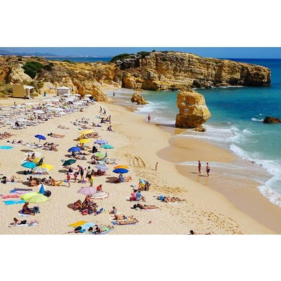 The Picturalist Facemount Acrylic: Dia de Playa en Mallorca on Acrylic by D. Gold
