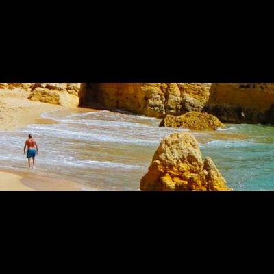 Facemount Acrylic: Dia de Playa en Mallorca on Acrylic by D. Gold