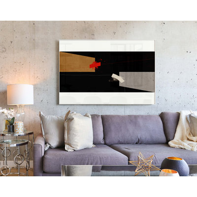 The Picturalist Framed Print on Canvas: Falling Free Canvas by Alejandro Franseschini