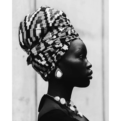 Framed Print on Rag Paper: Gala by O. Odunsi