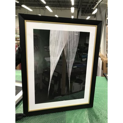 Framed Print on Rag Paper: Avoine Detail Photography by Eric Gizard