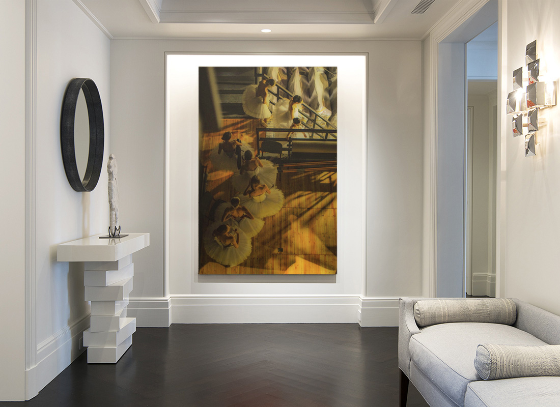 Designing Rooms with Large-Scale Photography