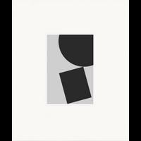 Framed Print on Rag Paper: Untitled 850 BW