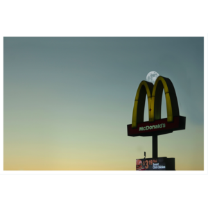 The Picturalist Framed Print on Rag Paper: Mclipse