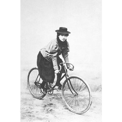 Framed Print on Rag Paper: Marie Tual 1896 by Jules Beau