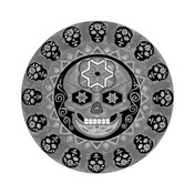 Framed Print on Rag Paper: Calavera by Octavio Fuentes