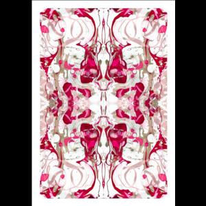 Framed Print on Rag Paper: Arabesque