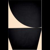 Framed Print on Canvas: Jean Dark II by Alejandro Franseschini