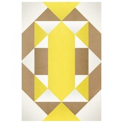 Framed Print on Rag Paper: Tribal by Alejandro Franseschini