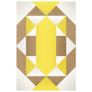 Framed Print on Rag Paper: Tribal