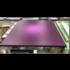 Framed Print on Canvas: Magenta Halo on Canvas