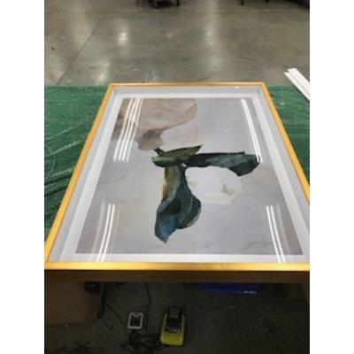 Framed Print on Rag Paper: Allein by Encarnacion Portal Rubio