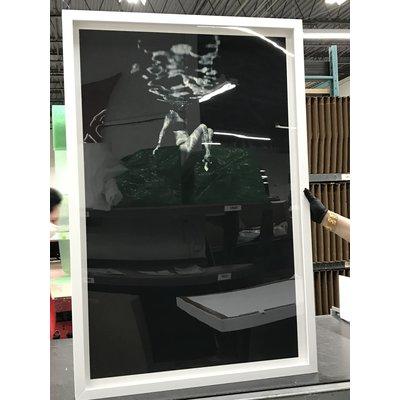 Framed Print on Rag Paper: Cadena II by Enric Gener
