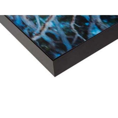 Facemount Acrylic: Wassily Kazimirski Berlin Citylights 1 Blau.  1/4 Inch Thick Acrylic Glass