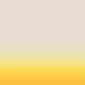 Facemount Acrylic: Ombre in Golden Yellow