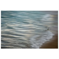 Framed Print on Rag Paper: Pencil Waves