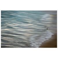 Framed Print on Rag Paper: Pencil Waves