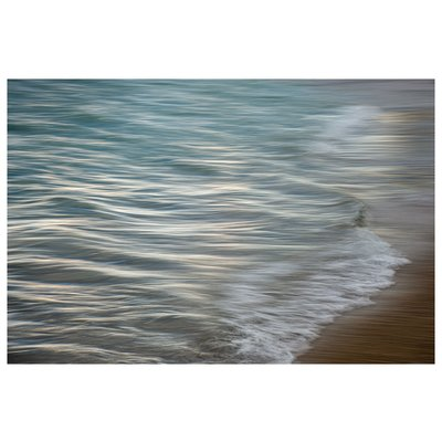 Framed Print on Rag Paper: Pencil Waves by Ana Bonet