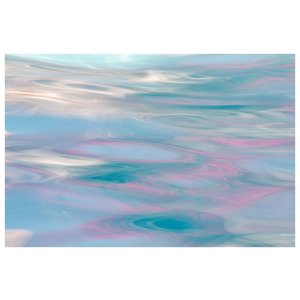 Framed Print on Rag Paper: Pink Reflections
