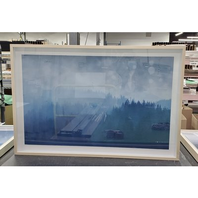 Framed Print on Rag Paper: Blueth by Karen Thom