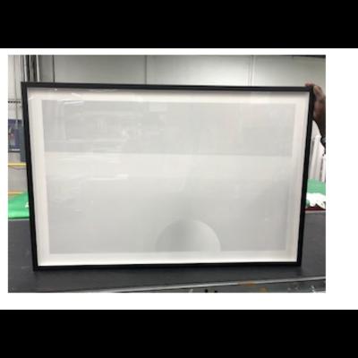 Framed Print on Rag Paper: Weiss-Kugel und Balken by Wassily Kazimirski