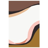 Framed Print on Rag Paper: Onda