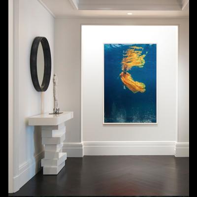 Framed Print on Rag Paper: Sirène by Stephan Debelle