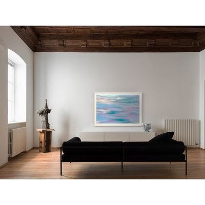 Framed Print on Rag Paper: Pink Reflections by Ana Bonet
