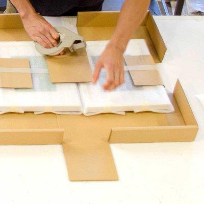 Framed Print on Rag Paper: Totem 3 by Alejandro Franseschini