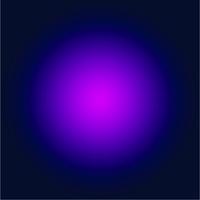 Facemount Acrylic: Purple Halo