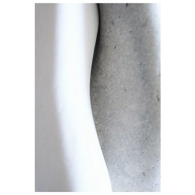 Framed Print on Rag Paper: Set In Stone 3 by Eric Gizard