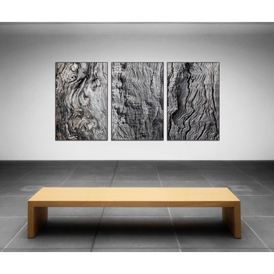 Framed Print on Rag Paper: Berkano 1 by D. Cole