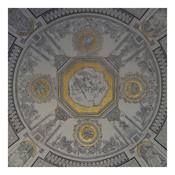 Framed Print on Rag Paper: Gilt Dome
