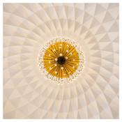 Framed Print on Rag Paper: Modernist Dome