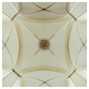 Framed Print on Rag Paper: Cream Dome