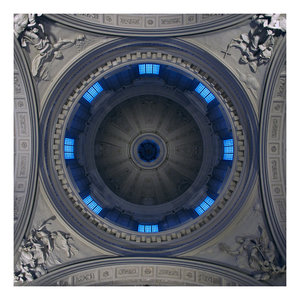 Blue and Grey Dome