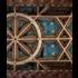 Framed Print on Rag Paper: Polychrome Wooden Dome