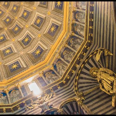 Framed Print on Rag Paper: Basilica Dome
