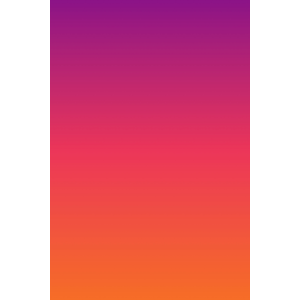 Facemount Acrylic: Ombre Sunset