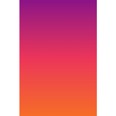 Facemount Acrylic: Ombre Sunset by Alejandro Franseschini
